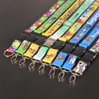 Wholesale Dye-Sublimated Lanyard with Slide Release Premium Name Tag Badge Holders with Lanyards from china suppliers