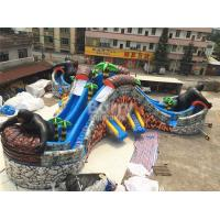 Wholesale Custom Gorilla Inflatable Water Park With 3 Round Swimming Pool from china suppliers