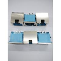 Wholesale 8P8C Rj45 Data Jack Telephone Modular Jack Sinking RJ45 With LED Shield from china suppliers