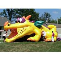 Wholesale Durable Outdoor Commercial Inflatable Slide, Cheap Inflatable Crocodile Slide For Playing from china suppliers