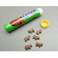 Quality Cute Cow Shape Chocolate Flavored Hard Candy Sweet Eco-Friendly for sale
