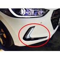 Buy cheap OE Fog Lamp Frame with Drl Daytime Running Lights for Hyundai 2016 Elantra Avante from Wholesalers