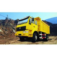 Wholesale Sino truck SWZ 4X2 Heavy Duty Dump Truck No Sleeper T model Howo Dumpper  Yellow White color from china suppliers