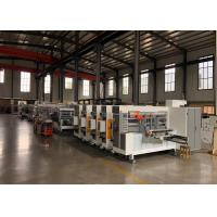 China Carton Box Packing Flexo Printer Slotter Machine / Corrugated Box Making Machine for sale
