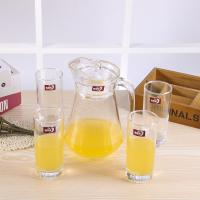 Longwei Family Water Jug And Glass Set , Glass Juice Jug With Lid 1300 ML