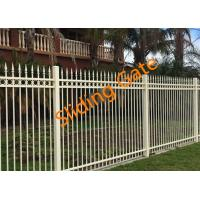 Wholesale Decorative Courtyard Automatic Driveway Gates , Electric Metal Gates Heat Treated from china suppliers