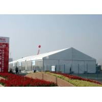 Wholesale Size Customized Large Shelter Tent , Aluminum Structure Tent With PVC Cover from china suppliers