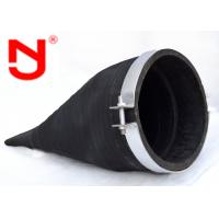 Wholesale Clamp Rubber Duckbill Check Valve Automatic Backflow Preventer Epoxy Fusion Coating from china suppliers