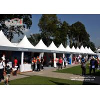 Wholesale 5X5M White Outdoor Event Tents With High Peak for Catering and Wine Festival from china suppliers