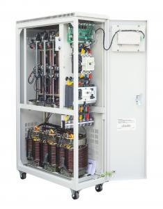 Wholesale Single Phase And Three Phase 10-5000kva Roller Carbon Brush Automatic Voltage Stabilizer from china suppliers