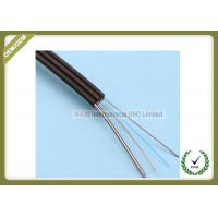 Wholesale Outdoor Fiber Optic Drop Cable 1 Core Steel Wire PVC / LSZH Jacket Flexible from china suppliers