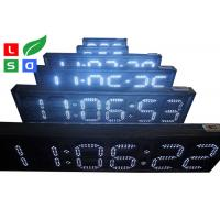 Buy cheap Outdoor White / Red LED Countdown Digit Sign Board With RF Remote Control from wholesalers