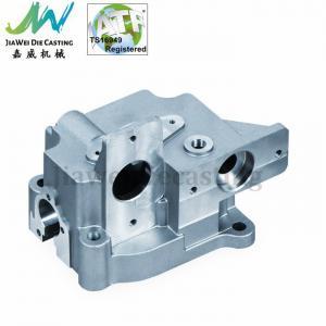 China High Precision Aluminum Die Cast Auto Parts , CNC Machined Converter Housing on sale