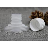 Wholesale 16mm Jelly / Milk / Mask / Cream Pack Plastic Pour Spouts With Screw Caps from china suppliers