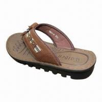 China Men's and Women's Slipper, Fip-flop, Sandal, Various Colors Available on sale