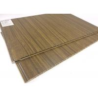 Wholesale Eco-friendly Wood Grain Waterproof Wall Panels / PVC Ceiling Panels from china suppliers