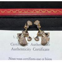 Wholesale sophisticated 18K Gold Diamond Earrings , Bulgari Divas Dream Earrings from china suppliers