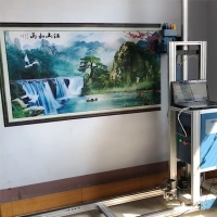 Wholesale 360*720dpi CMYK Ink Double TX800 Nozzle Wall Mural Printer from china suppliers