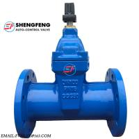 Wholesale DIN3352 CAST IRON DUCTILE IRON DN100 PN16 GGG50 F5 WATER GATE VALVE from china suppliers