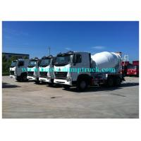 China 8cbm Sinotruk 6x4 Concrete Mixer Truck with ABS HOWO A7 concrete mixing trucks 336 HP on sale