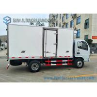 Wholesale 14ft Refrigerator Van Truck / Refrigerated Box Refrigerator Freezer Cargo Van CKD Kits from china suppliers