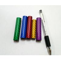 Wholesale 25mm 28mm 31mm diameter green red blue gold  colorful carbon fiber tube from china suppliers