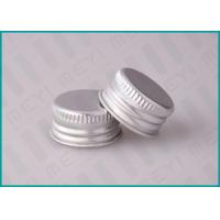 China 24mm Screw Top Metal Pharmaceutical Bottle Cap With Aluminum Material on sale