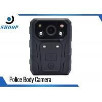 Wholesale High-Resolution Body Worn Video Camera , 158g Weight Body Cameras For Security from china suppliers