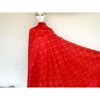 Wholesale Red Big Swiss Cotton Lace Knitted ,100% Cotton Knitted Lace from china suppliers