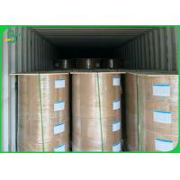 China 40gsm 60gsm 80gsm Food Grade Paper Roll With 100% Wood Pulp Material for sale