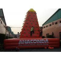Wholesale Customized Inflatable Sports Games Plastic Kids Rock Climbing Wall EN71 from china suppliers