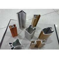Wholesale Wood Finished Aluminium Door Profiles Strength Hardness Wear Resistance from china suppliers