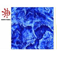 Buy cheap HTY TMG 600*600 Marble Blue Look Glazed Ceramic Tiles Cheap Price in India from wholesalers