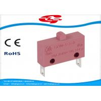 Wholesale 10A 5A 250V AC Electrical Micro Switches , Push Button Electric Switch SPST Type from china suppliers