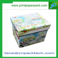 Wholesale Custom Printing Lid and Base Boxes Rigid Cardboard Boxes Gift Packaging Box Paper Box from china suppliers