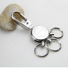 Premium heavy duty metal key holder key chain for men gift set, exquisite, 45g, zinc alloy for sale