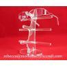 Acrylic high quality glasses display rack / glasses holder/ plexiglass sunglasses stand for sale