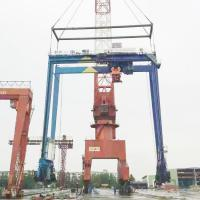 Wholesale Container Mobile Ship Gantry Crane / Heavy Duty Electric Gantry Crane from china suppliers