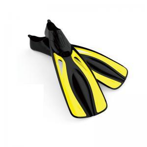 Quality Snorkeling Skin Diving Fins Comfortable Foot Pocket Single Blade Diving for sale