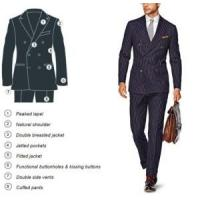 Wholesale 2012 Happy Healthy 110 Man′s Suit from china suppliers