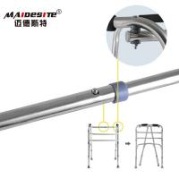 Wholesale Stainless Steel Walker Disabled Walking Aids , Walking Frames For Disabled    from china suppliers