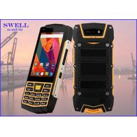 Buy cheap Dual Sim Rugged quad core SmartPhone , outdoor cell phone Rear 5.0MP Camera from Wholesalers