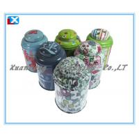 Wholesale round lipton tea packaging tin box from china suppliers