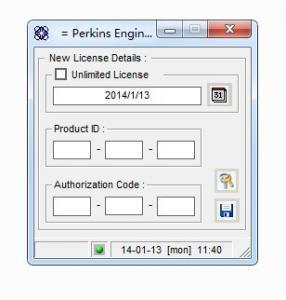 Quality Perkins 1300 EDi Peregrine EDi Engine Diagnostics software program+ EDI 1300 keygen unlocked for sale