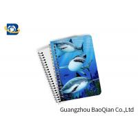 Wholesale Decorative 3D Flip Effect Lenticular Notebook For Shark A1 / A2 / A3 Custom Size from china suppliers