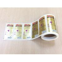 Wholesale Hair Shampoo Bottle Full Page Adhesive Labels , Plastic Sticky Address Labels Roll from china suppliers