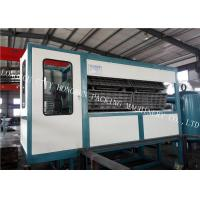 China 30 Egg Tray Forming Machine , Paper Pulp Moulding Machine Touch Screen on sale