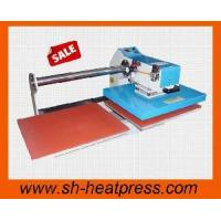 Buy cheap Upside Pneumatic Double Station Heat Transfer Press Machine from wholesalers