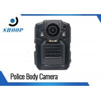 Quality Portable Police Wearing Body Cameras , High Resolution Police Wearable Camera for sale