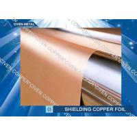 Wholesale High bendability Rolled Copper Shielding Foil Shielding for CCL , FCCL , PCB from china suppliers